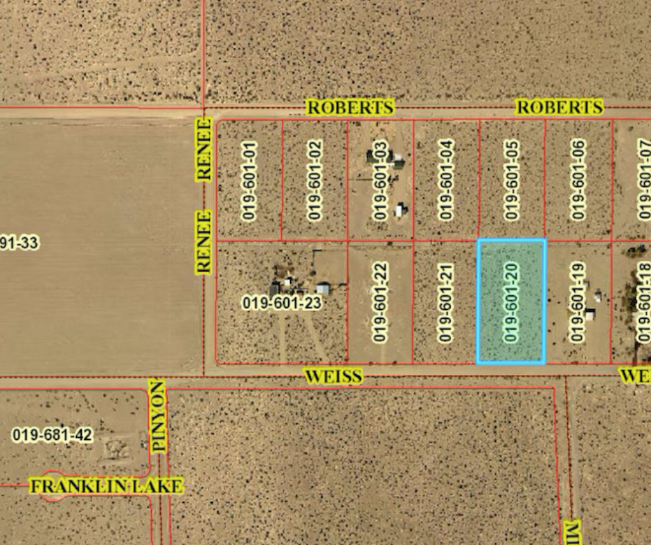 Buy land nevada